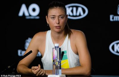 A crystal ball is needed to know if it is the end for Maria Sharapova as she is unsure of her future .