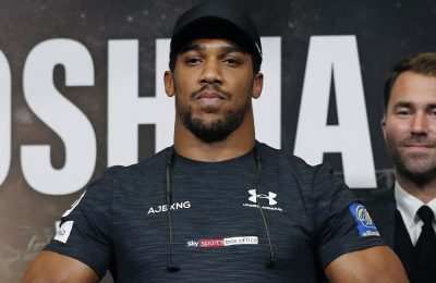 Anthony Joshua to fight Bulgarian Kubrat Pulev in June