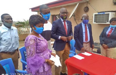 Nigeria Table Tennis Umpires and Referees Association presents Insurance Benefit to Family of Late Saidi Raji