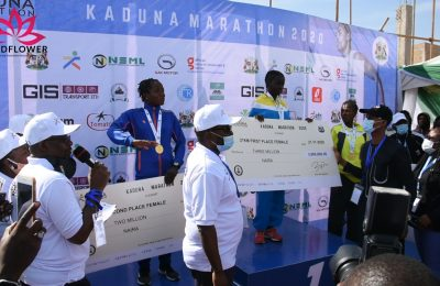 Kaduna Marathon: 13-Year-Old Girl emerges as first Nigerian in the women's category