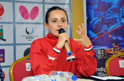 Dina Meshref: The Waving Flag of Africa Female Table Tennis