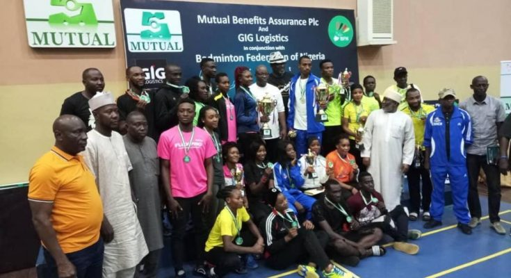 Mutual Benefits National Badminton Championship Dorcas makes it three in a row as Rofiat Arinola wins Gold