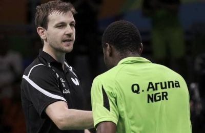 Quadri left it too late as Timo Boll navigated a tricky tie