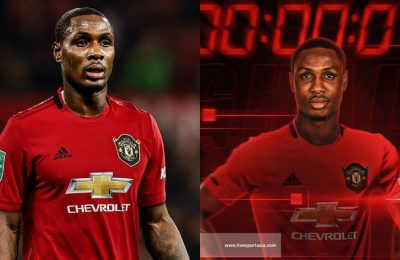 Odion Ighalo was desperate to sign for Manchester United