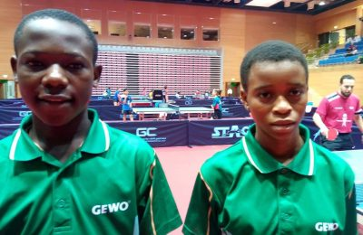 2019 Hopes and Challenges Week: Nigeria's Okanlanwo Usman and Akeem Saidat qualifies for quarter-final