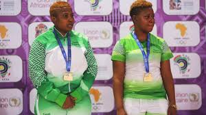 2019 African games: Women's double Gold, it is Edem Offiong and Cecilia Akpan for the third time