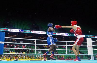 Botswana's Keamogetse Sadie Kenosi is the first Africa boxer to qualify for Tokyo 2020