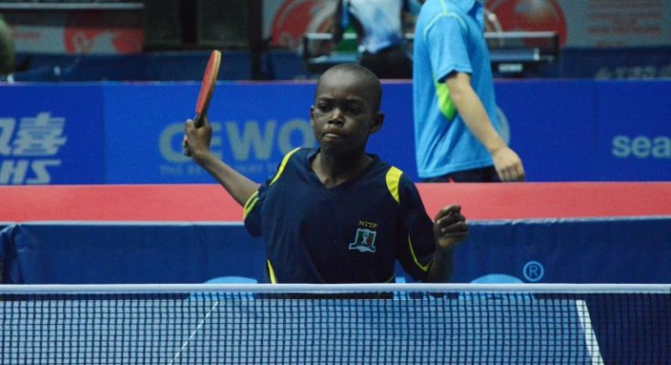 History as Nigeria's Musa Mustapha ranked world's number one cadet player