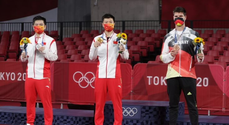 Ma Long becomes first-ever double Olympic champion